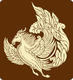 Traditional Totem Pattern. Vector of Ancient Chinese Traditional Totem Pattern Stock Photos