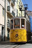 Traditional tram in Lisbon Royalty Free Stock Image