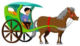 Philippine traditional transportation Royalty Free Stock Image