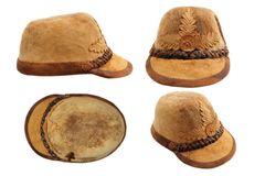 Traditional transylvanian hunting hat Royalty Free Stock Photography