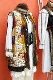Traditional transylvanian popular costume. Traditional male costume from Transylvania royalty free stock image