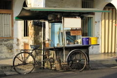Traditional Tricycle Food Stand Royalty Free Stock Image