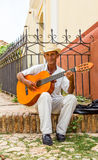 Traditional troubadour of trinity Royalty Free Stock Photography
