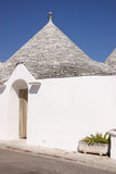 Traditional trulli houses in Alberobello Stock Photo
