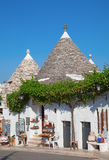 Traditional Trulli houses Royalty Free Stock Photos