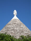 Traditional Trulli houses Royalty Free Stock Photography