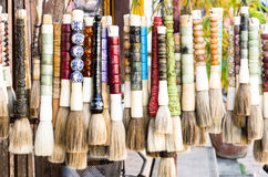 Traditional tuft for souvenir Stock Image