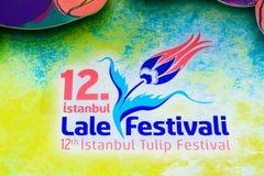 Traditional Tulip Festival in Emirgan Park in Istanbul,Turkey Stock Image