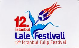 Traditional Tulip Festival in Emirgan Park in Istanbul,Turkey Royalty Free Stock Photos