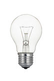 Traditional Tungsten Light Bulb Isolated On White