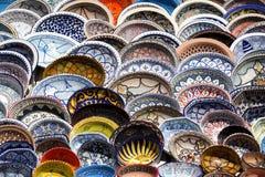 Traditional Tunisian ceramics. Kitchen utensil Stock Image