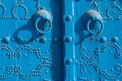 Traditional tunisian door Royalty Free Stock Photography