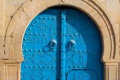 Traditional tunisian door Stock Photos