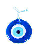 Traditional Turkish Amulet. Evil Eye on white background Stock Image
