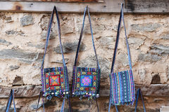 Traditional Turkish Bags Royalty Free Stock Photography