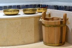 Traditional Turkish Bath Stock Images