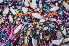 Traditional Turkish bracelets. Royalty Free Stock Photos