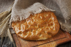 Traditional   turkish bread Stock Images