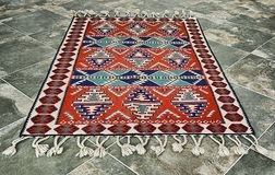 Traditional turkish carpet Royalty Free Stock Image