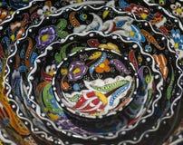 Traditional Turkish ceramics on the Grand Bazaar Royalty Free Stock Image