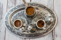 Free Traditional Turkish Coffee Stock Photography - 48420142