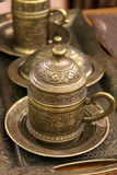 Traditional Turkish coffee cup Stock Photography