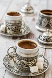 Traditional Turkish Coffee Stock Photos