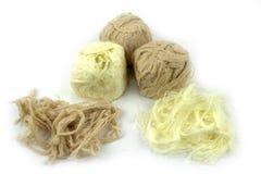 Traditional Turkish cotton candy ( Pismaniye ) Stock Photos