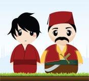 Traditional Turkish Couple Stock Image
