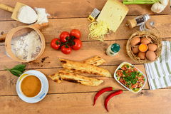 Traditional turkish cuisine. Traditional Turkish Food and Concept Stock Photography