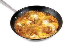 Traditional Turkish cuisine, Menemen. Stock Photography