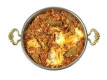Traditional Turkish cuisine, Menemen. Royalty Free Stock Photos