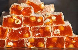 Traditional Turkish Delight Stock Photography