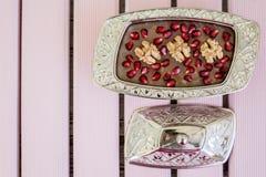Traditional Turkish Dessert Ashure Royalty Free Stock Image