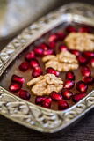 Traditional Turkish Dessert Ashure Royalty Free Stock Images