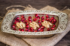 Traditional Turkish Dessert Ashure Royalty Free Stock Photos