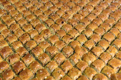 Traditional Turkish dessert Royalty Free Stock Photography