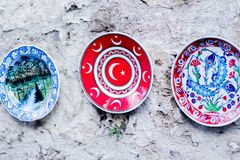 Traditional Turkish dishes stock photo