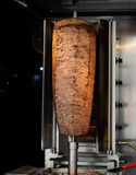 Traditional Turkish Doner Kebab grill stock photography