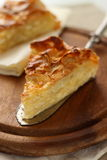 Traditional turkish feta cheese pie Royalty Free Stock Photos