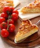 Traditional turkish feta cheese pie Stock Photography