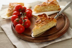 Traditional turkish feta cheese pie Royalty Free Stock Photo