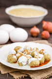 Traditional Turkish Food Mirik Kofte Made from Bulgur, Onion and Stock Image