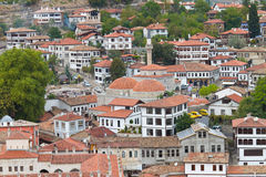 Traditional Turkish Houses Stock Image
