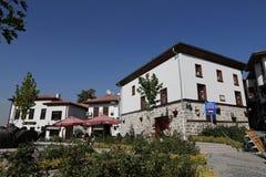 Traditional Turkish Houses in Ankara City Royalty Free Stock Photography