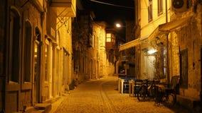 Traditional turkish houses, travel destination, alacati, cesme, turkey stock video footage
