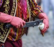 Traditional Turkish ice cream Stock Photo