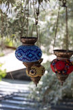 Traditional turkish lamp. Royalty Free Stock Photo