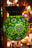 Traditional turkish lamps Stock Photos
