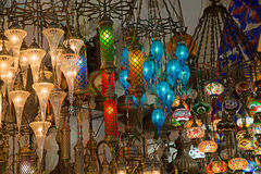 Traditional turkish lamps Stock Image